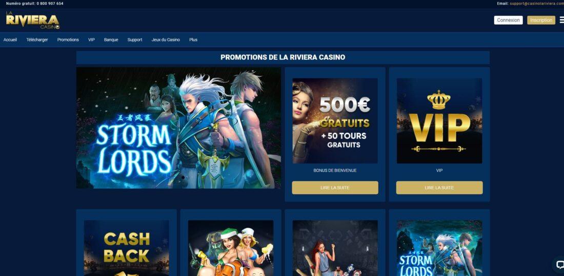 La Riviera Casino promotions-min